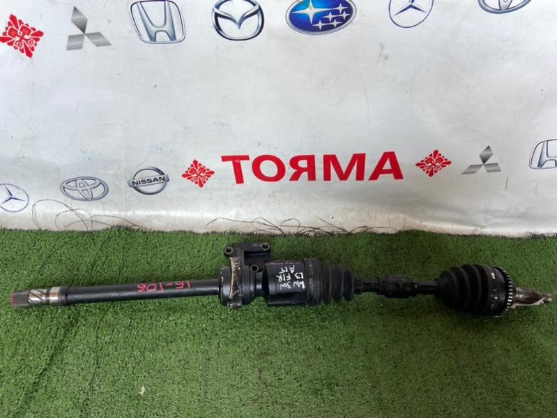 Привод Mazda Mpv LW3W L3-DE передний правый