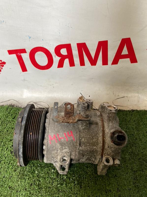 Компрессор кондиционера Toyota Vellfire ANH20 2AZFE 2009.10