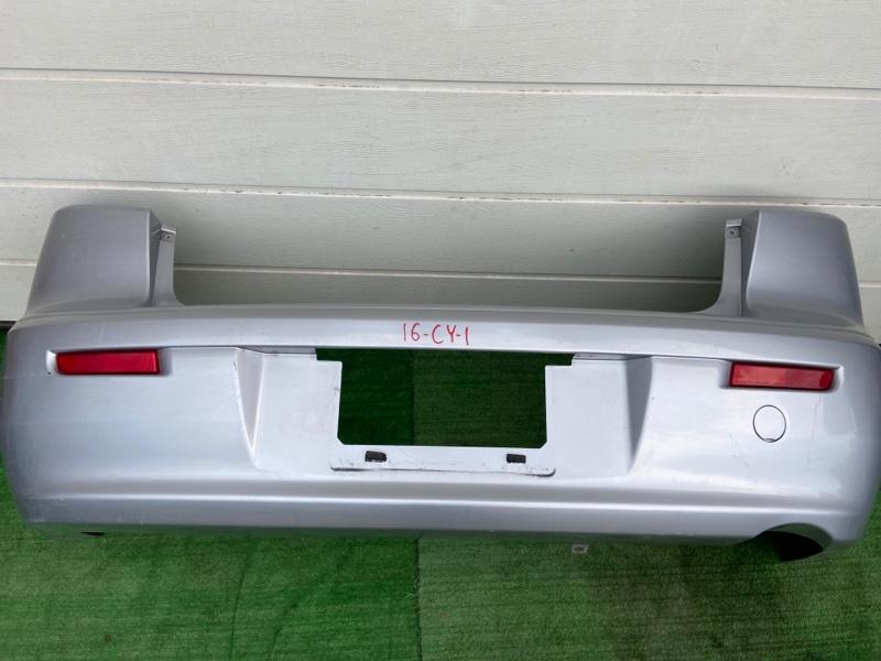 Бампер Mitsubishi Lancer X CX1A задний