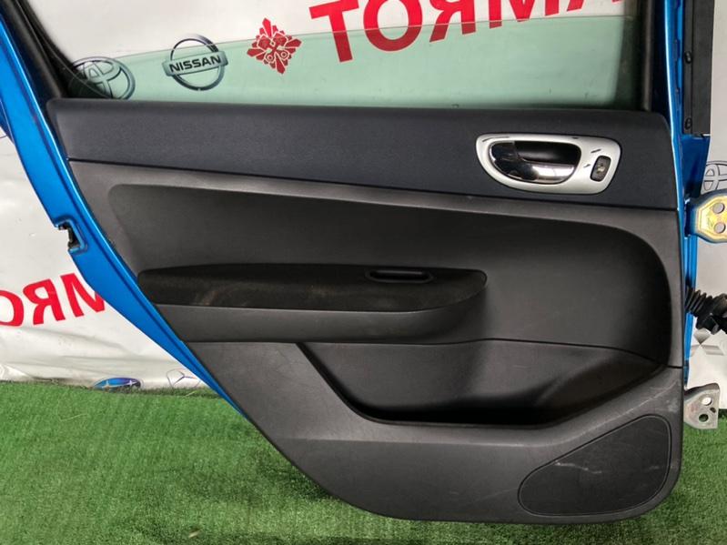 Обшивка дверей Peugeot 307 307 T5NFU 2003 задняя левая
