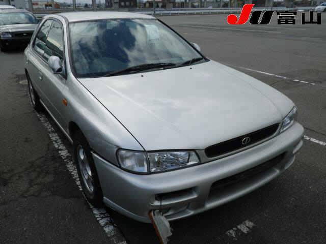Автомобиль Subaru impreza GF2 EJ151 2000 года в разбор