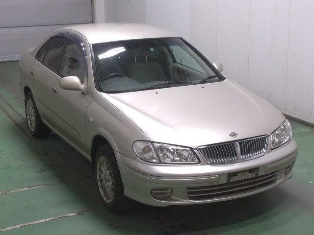 Автомобиль Nissan Bluebird Sylphy QNG10 QG18 2002 года в разбор
