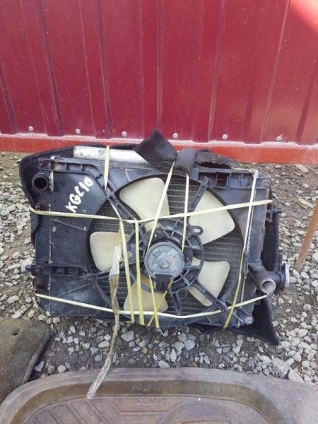 Радиатор двс Toyota Passo KGC10 (б/у)
