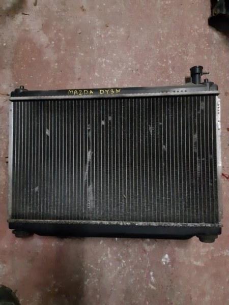 Радиатор двс Mazda Demio DY3W (б/у)