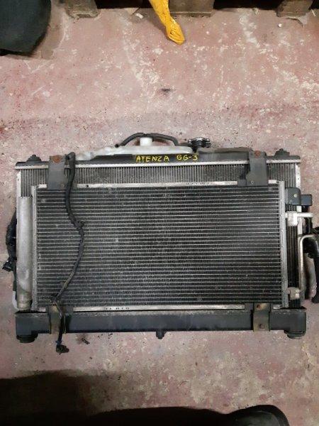 Радиатор двс Mazda Atenza GH5FP (б/у)