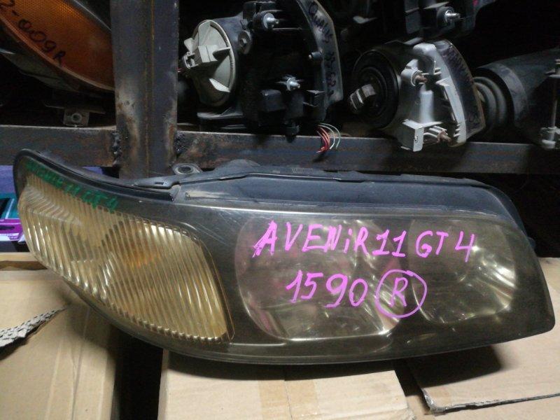Фара Nissan Avenir PW11 правая (б/у)