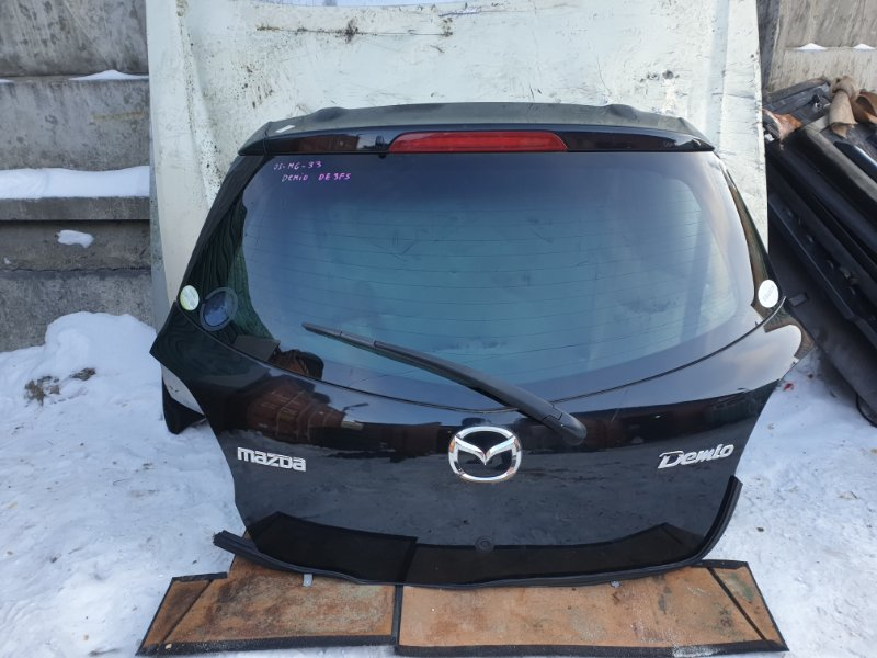 Дверь багажника Mazda Demio DE3FS 2008 (б/у)