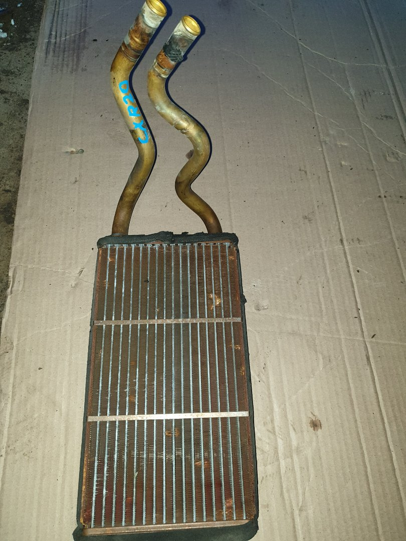 Радиатор печки Toyota Estima CXR20 (б/у)