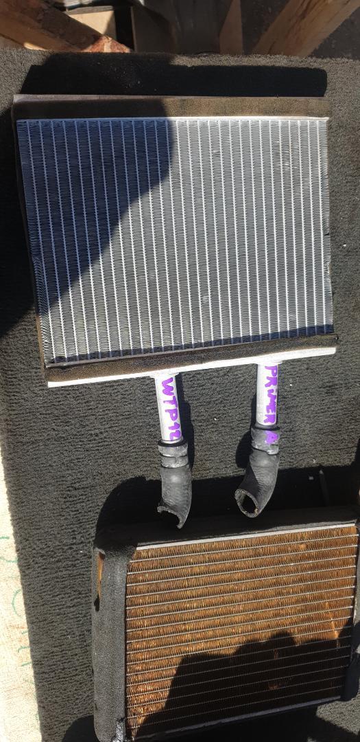 Радиатор печки Nissan Primera HP12 (б/у)