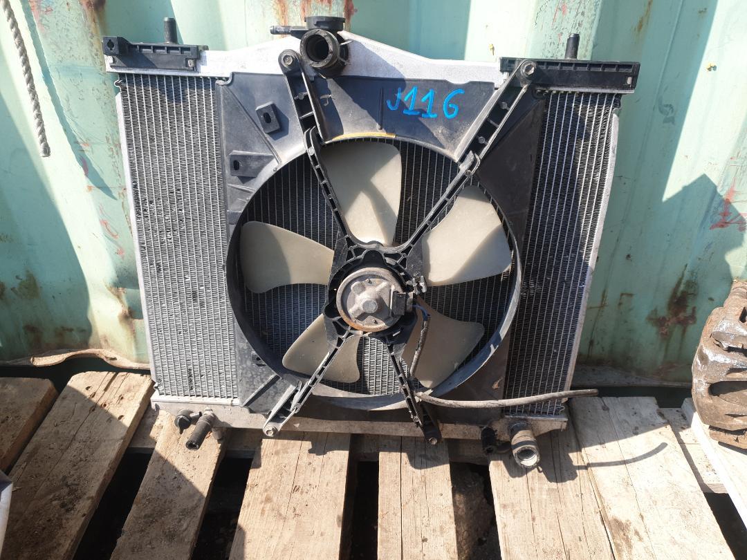 Радиатор двс Daihatsu Terios Kid J111G EF (б/у)