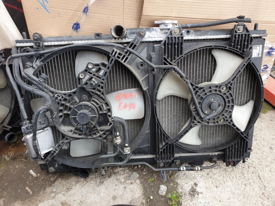 Радиатор двс Mitsubishi Galant EA1A (б/у)