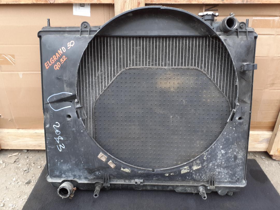 Радиатор двс Nissan Elgrand ALWE50 QD32 (б/у)