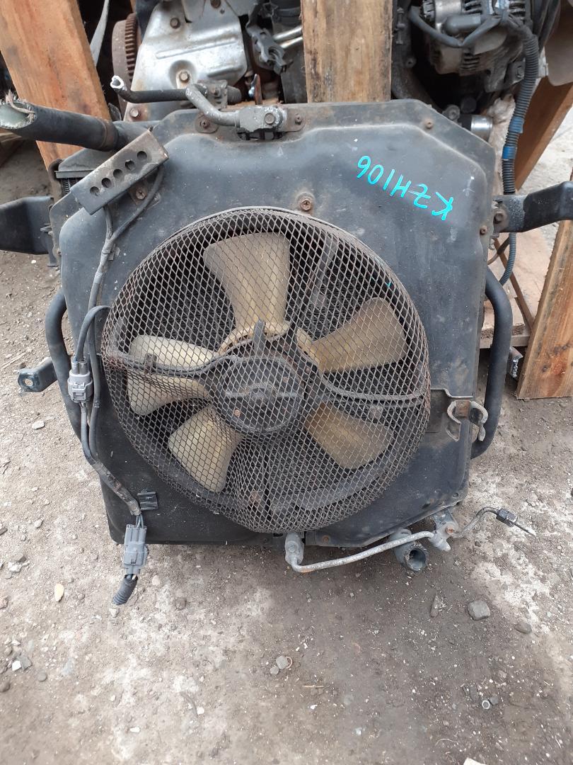 Радиатор двс Toyota Hiace KZH106 нижний (б/у)