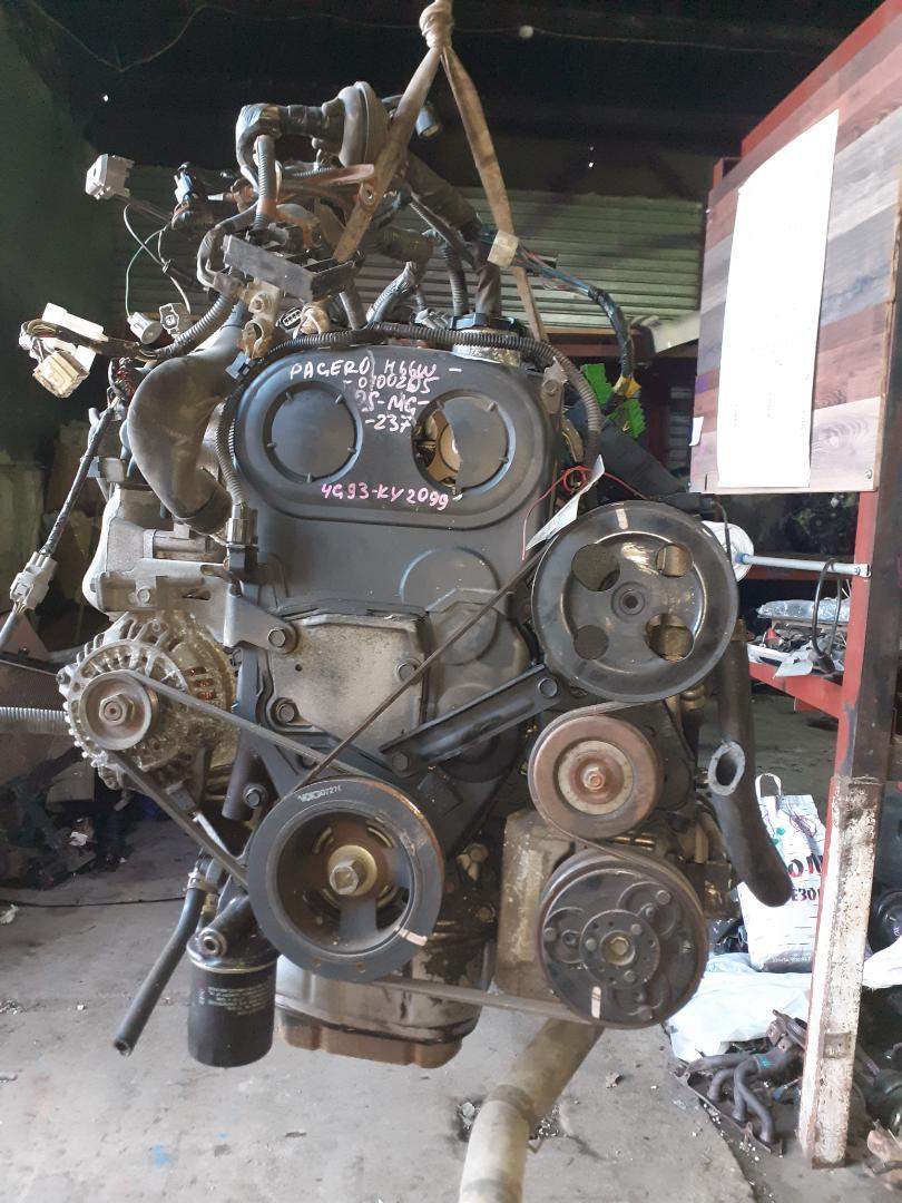 Двигатель Mitsubishi Pajero Io H66W 4G93 (б/у)