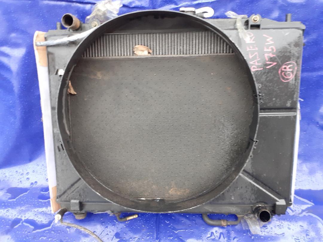 Радиатор двс Mitsubishi Pajero V75W (б/у)