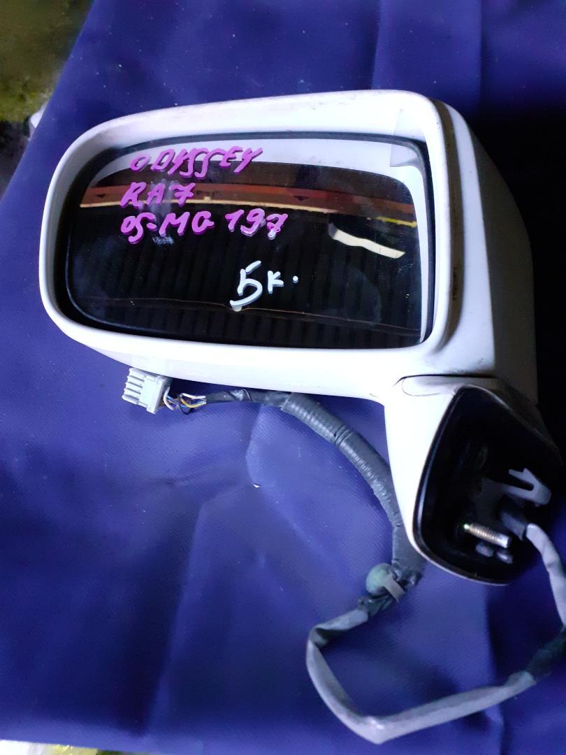 Зеркало Honda Odyssey RA7 левое (б/у)