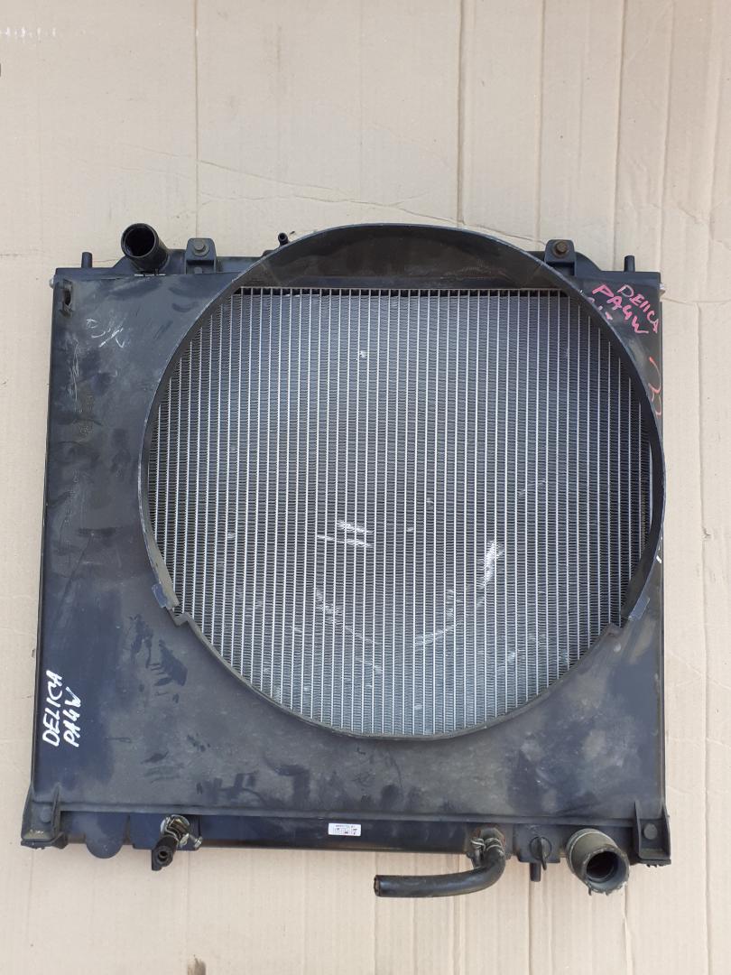 Радиатор двс Mitsubishi Delica PA4W 6G64 (б/у)