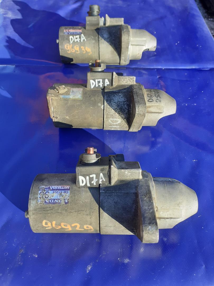 Стартер Honda Stream RN2 D17A (б/у)