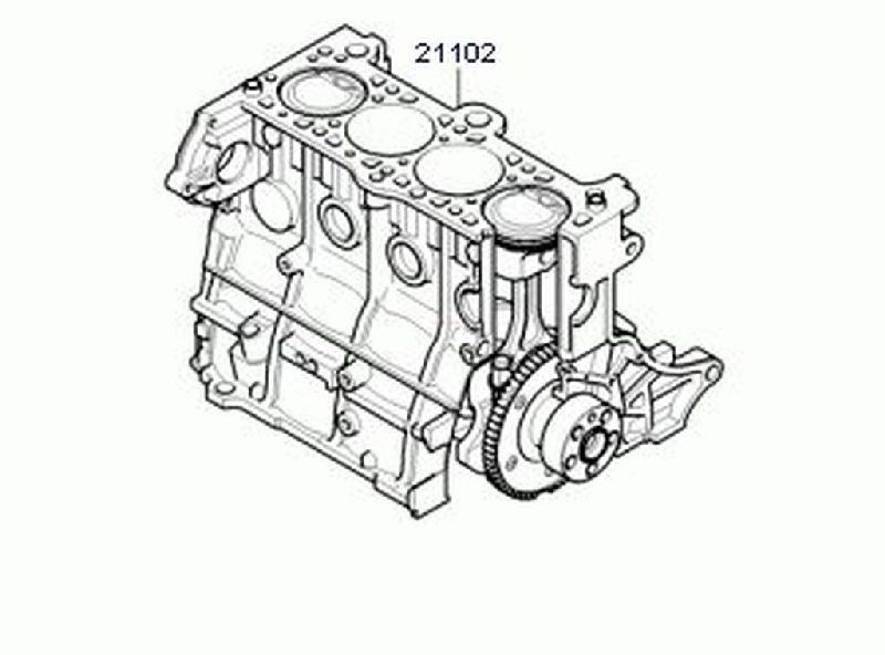 Двигатель Hyundai Getz BJ 1.4 2002 2003 2004 2005 2006 2007 2008 2009 2010 2011 202C226P02