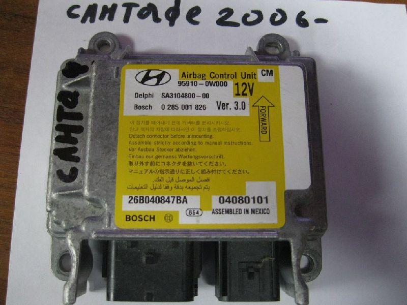 Блок управления аирбаг Hyundai Santa Fe 2 BM 2.0TD 2006 2007 2008 2009 2010 2011 2012 (б/у) 959100W000