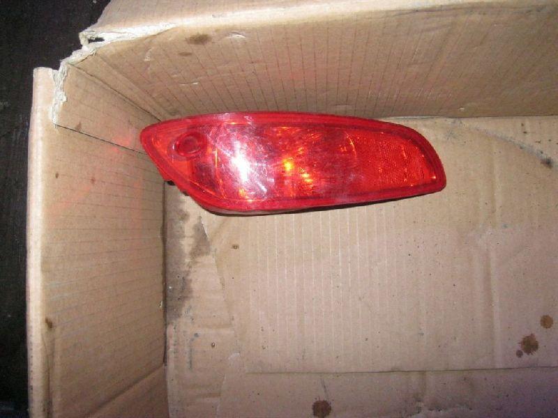Фонарь в бампер Hyundai Santa Fe 2 BM 2.0TD 2006 2007 2008 2009 2010 2011 2012 задний левый (б/у)
