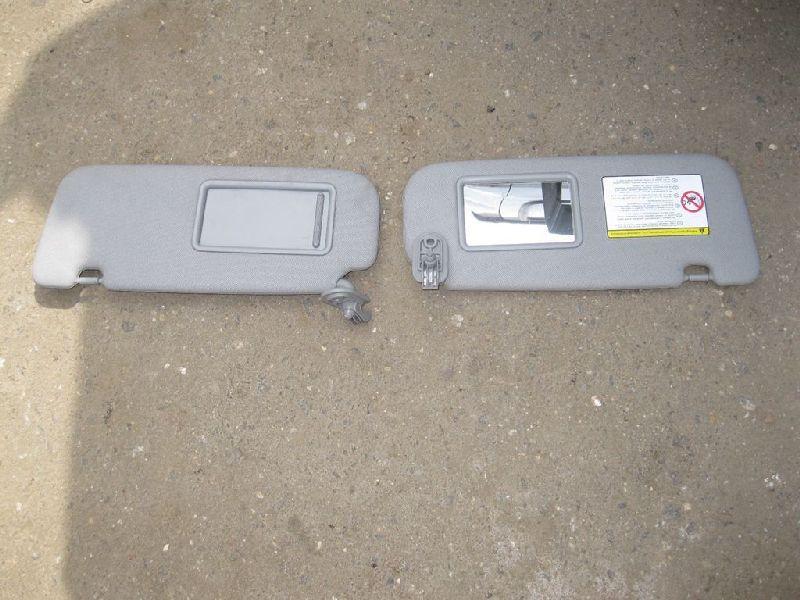 Козырек солнцезащитный Hyundai Solaris 1 SB G4FA 2010 левый (б/у) 852101R0008M