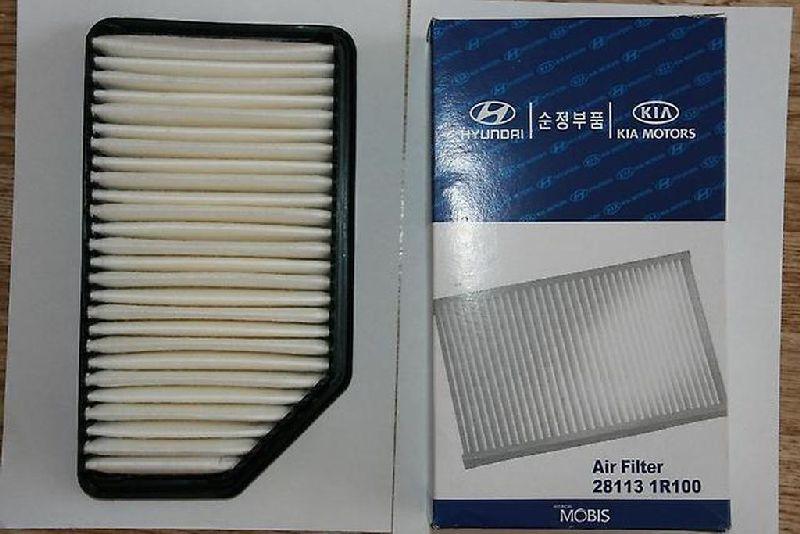 Фильтр воздушный двигателя Hyundai Solaris 1 SB G4FA 2010 281131R100