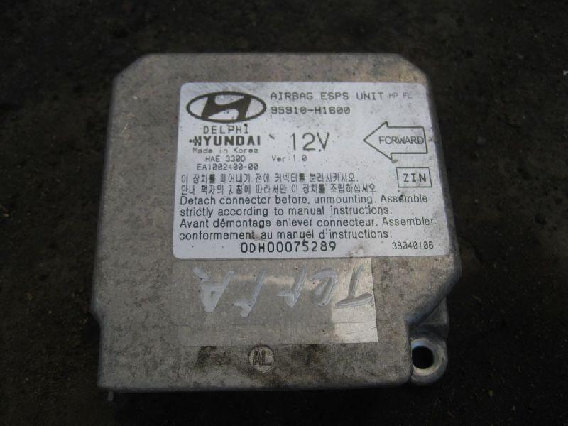 Блок управления аирбаг Hyundai Terracan EF 2.5TD 2003 2004 2005 2006 (б/у) 95910H1600