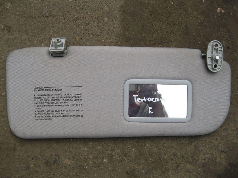 Козырек солнцезащитный Hyundai Terracan EF 2.5TD 2003 2004 2005 2006 (б/у) 85270H1101JI
