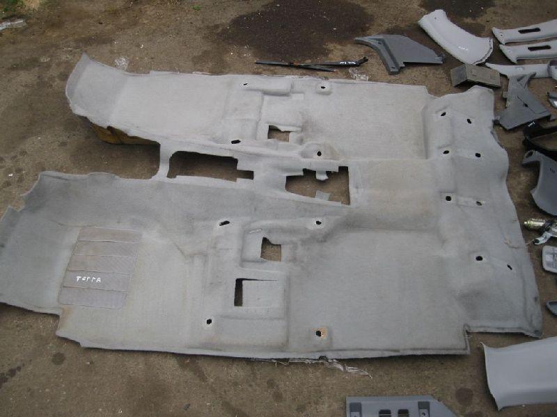 Обшивка пола салона Hyundai Terracan EF 2.5TD 2003 2004 2005 2006 (б/у) 84210H1050JI