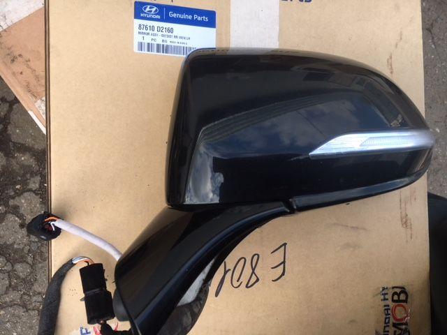 Зеркало левое Hyundai Genesis B1 3.3 2014 левое (б/у) 87610D2160