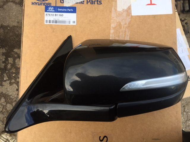 Зеркало левое Hyundai Genesis B1 3.3 2014 левое (б/у) 87610B1160