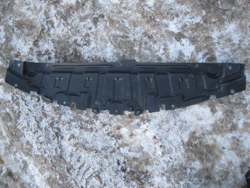 Пыльник переднего бампера Mazda Mazda 3 BK 1.6 2003 передний нижний (б/у) BP4K56112