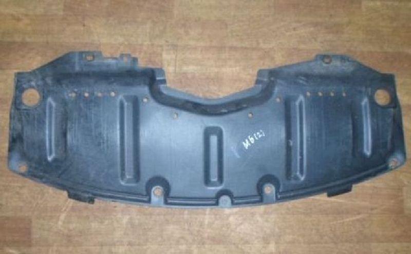 Пыльник переднего бампера Mazda Mazda 6 GH 1.8 2008 передний нижний (б/у)