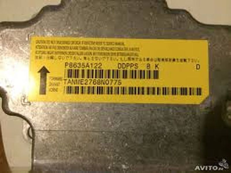 Блок управления аирбаг Mitsubishi Lancer 10 CY1A 4A91 2007 8635A122