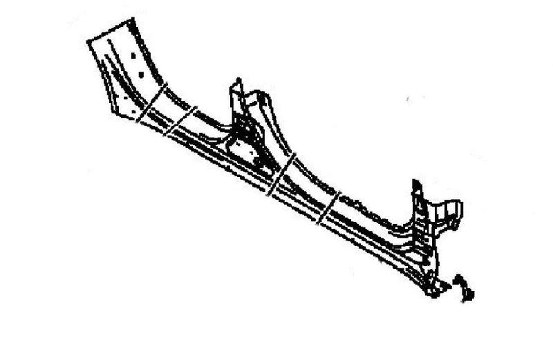 Кузов по частям Mitsubishi Lancer 10 CY1A 4A91 2007 5253D634