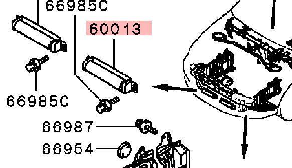 Виброгаситель Mitsubishi Lancer 9 CS1A 4G13 2000 2001 2002 2003 2004 2005 2006 2007 2008 2009 2010 2011 (б/у) MR521613