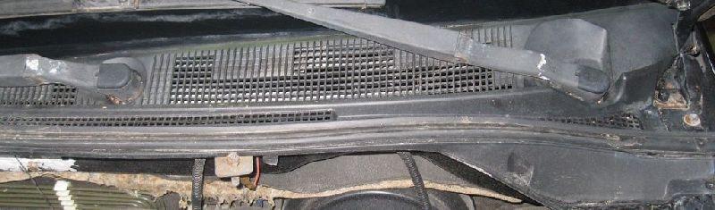 Жабо Mitsubishi Lancer 9 CS1A 4G13 2000 2001 2002 2003 2004 2005 2006 2007 2008 2009 2010 2011 (б/у) MR533285