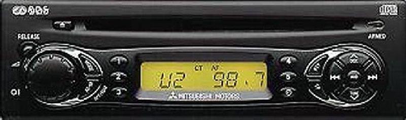 Магнитола Mitsubishi Lancer 9 CS1A 4G13 2000 2001 2002 2003 2004 2005 2006 2007 2008 2009 2010 2011 (б/у) MZ312636