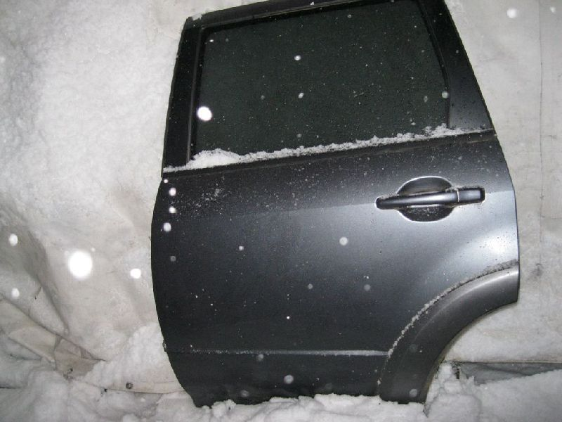 Расширитель двери Mitsubishi Outlander 1 CU2W 4G63 2003 задний левый (б/у) 7420A009