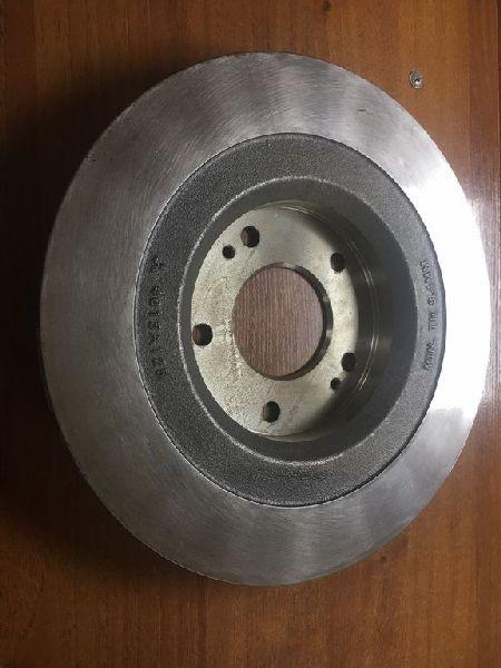 Тормозной диск Mitsubishi Outlander 3 GF2W 4B10 2012 задний (б/у) 4615A125