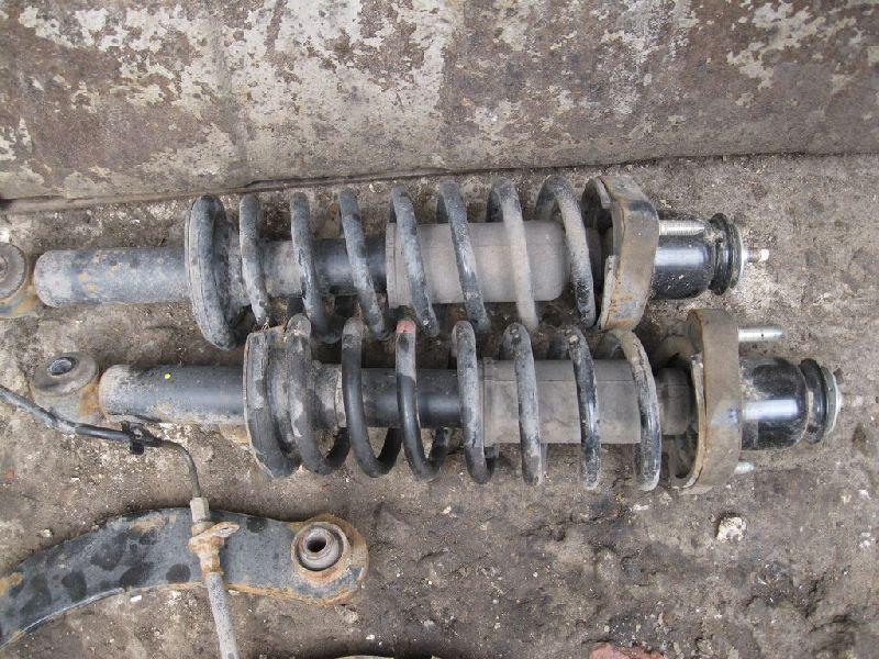 Амортизатор Mitsubishi Outlander Xl CW1W 4B11 2006 2007 2008 2009 2010 2011 2012 задний (б/у)