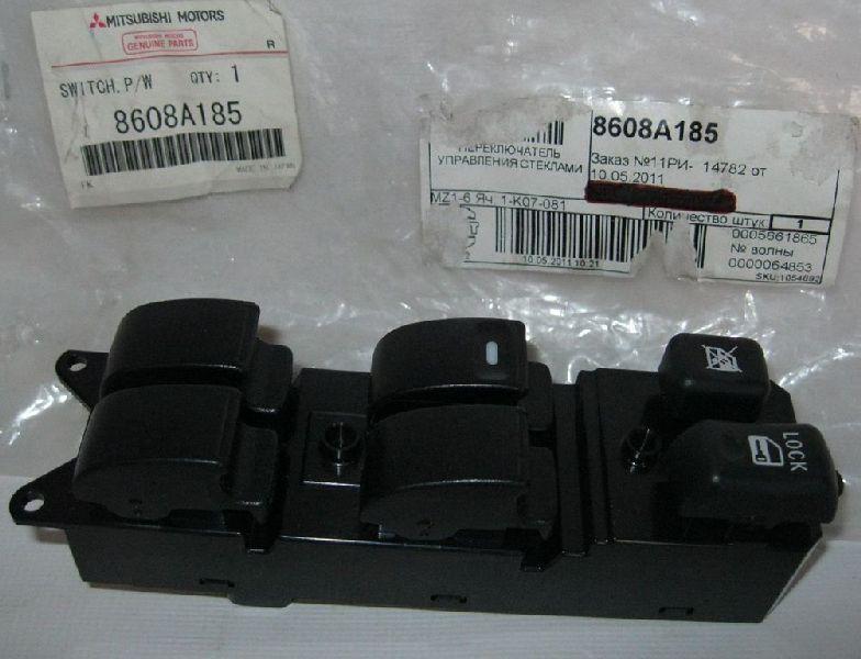Блок управления стеклоподъемниками Mitsubishi Outlander Xl CW1W 4B11 2006 2007 2008 2009 2010 2011 2012 передний 8608A185