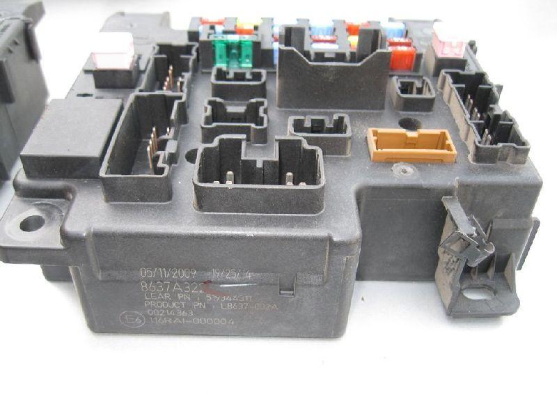 Блок предохранителей Mitsubishi Outlander Xl CW1W 4B11 2006 2007 2008 2009 2010 2011 2012 (б/у) 8637A322