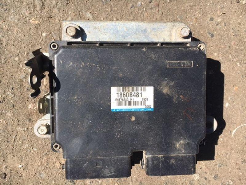 Блок управления двигателем Mitsubishi Outlander Xl CW1W 4B11 2010 2011 2012 (б/у) 1860B481