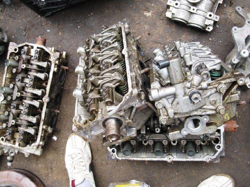 Головка блока цилиндров Mitsubishi Outlander Xl CW1W 4B11 2006 2007 2008 2009 2010 2011 2012 передняя (б/у) 1005C291