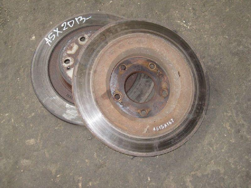 Тормозной диск Mitsubishi Outlander Xl CW1W 4B11 2006 2007 2008 2009 2010 2011 2012 задний (б/у) 4615a167