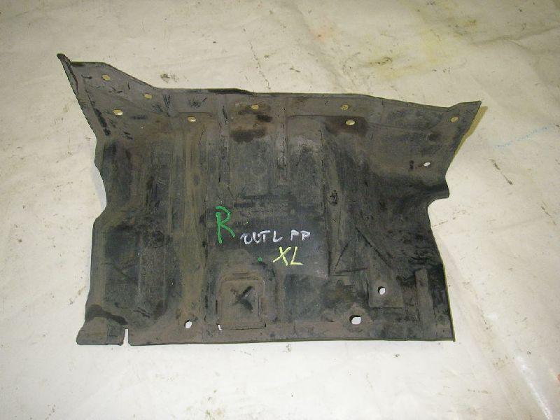 Защита двигателя Mitsubishi Outlander Xl CW1W 4B11 2006 2007 2008 2009 2010 2011 2012 правая (б/у) MN154380
