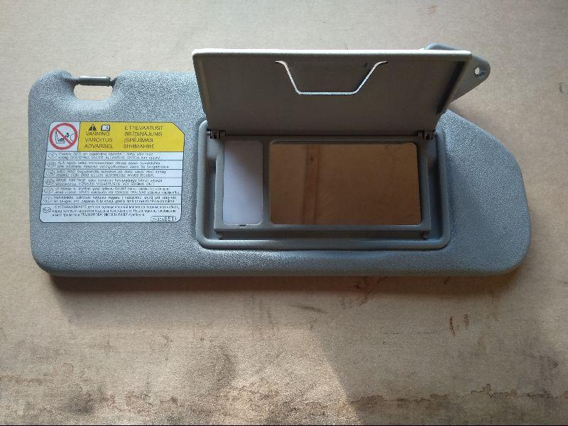 Козырек солнцезащитный Mitsubishi Outlander Xl CW1W 4B11 2006 2007 2008 2009 2010 2011 2012 правый (б/у) 7620A068HA