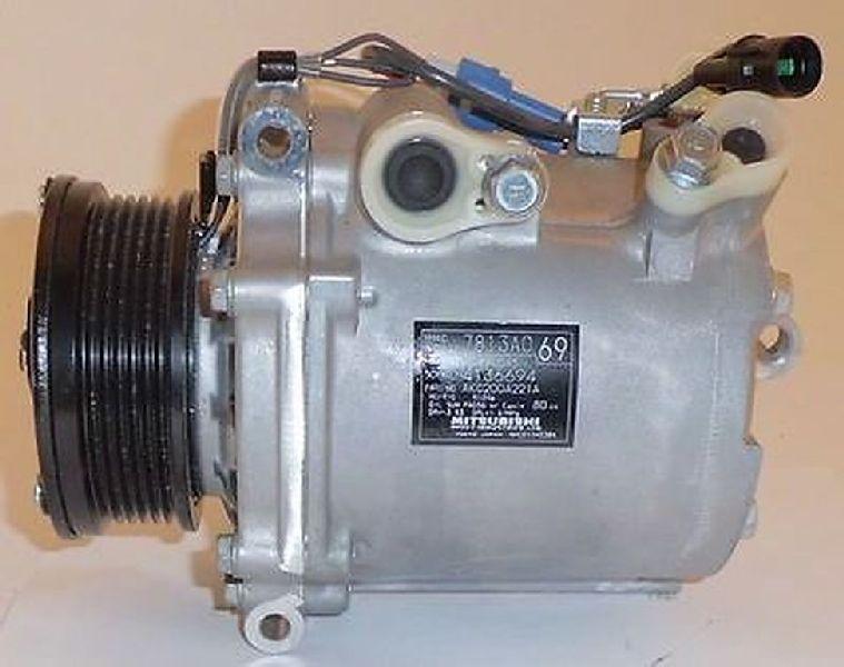 Компрессор кондиционера Mitsubishi Outlander Xl CW1W 4B11 2006 2007 2008 2009 2010 2011 2012 7813A069